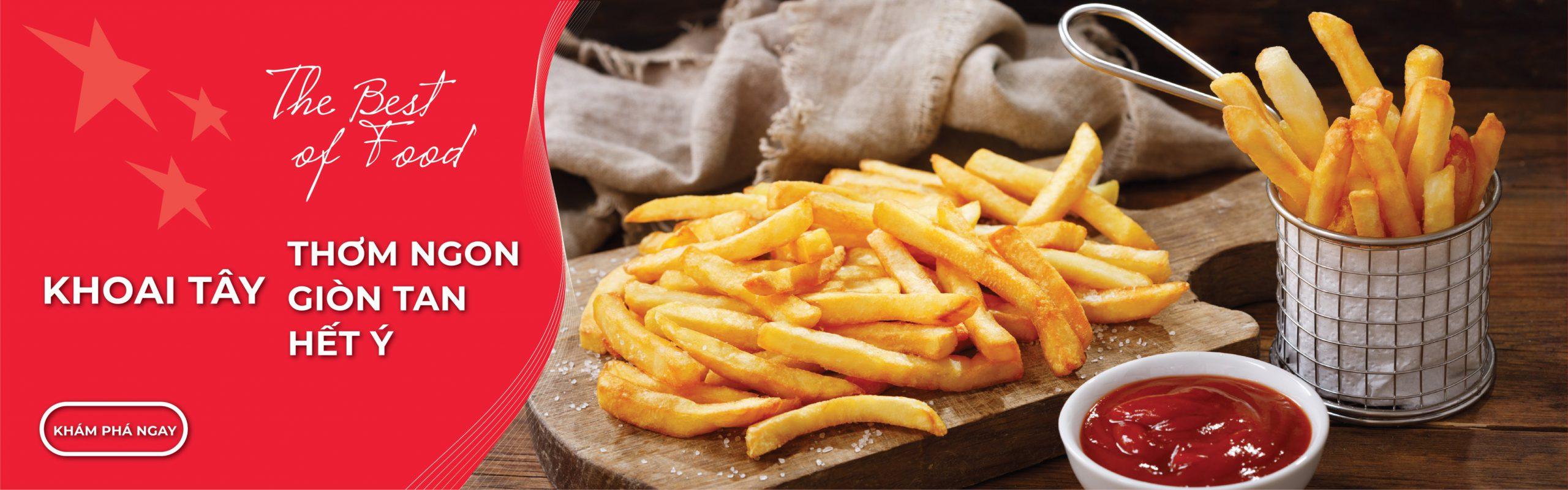 Banner khoai tây